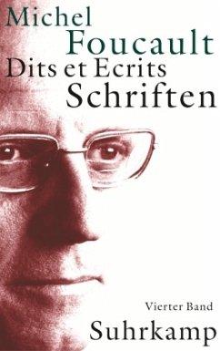 Schriften\Dits et Ecrits, 4 Bde. - Foucault, Michel