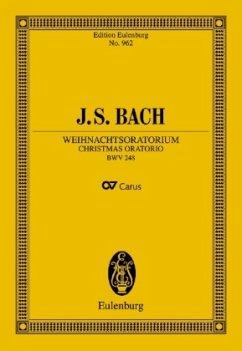 Weihnachtsoratorium BWV 248, Partitur