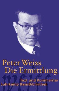 Die Ermittlung - Weiss, Peter