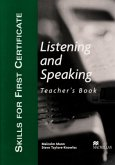 Skills for First Certificate Listening and Speaking. Teacher's Book
