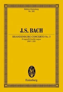 Brandenburgisches Konzert Nr.5 D-Dur BWV 1050, Studienpartitur