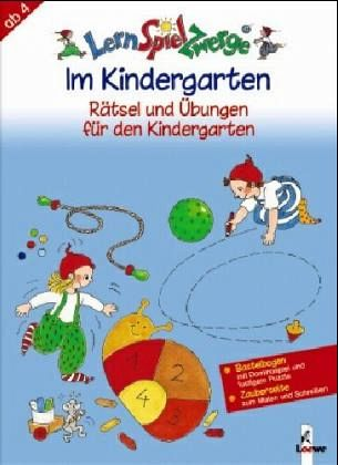 im kindergarten r tsel und bungen f r den kindergarten lernspielzwerge buch. Black Bedroom Furniture Sets. Home Design Ideas