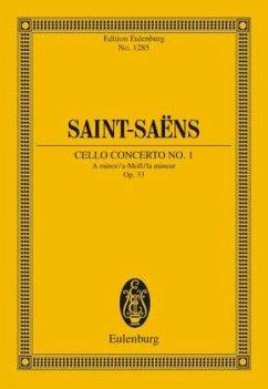 Violoncellokonzert Nr. 1 a-Moll op.33, Partitur