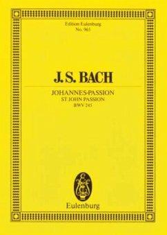 Johannes-Passion - Bach, Johann Sebastian