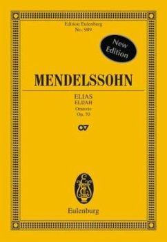 Elias op.70, Partitur