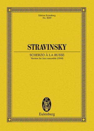 scherzo a la russe version for jazz ensemble partitur von igor strawinsky noten portofrei. Black Bedroom Furniture Sets. Home Design Ideas