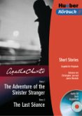 The Adventure of the Sinister Stranger/The Last Seance, 1 Audio-CD u. Buch