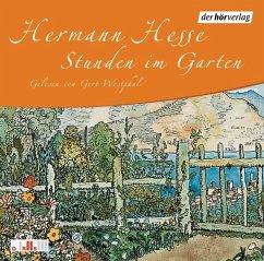 Stunden im Garten, 1 Audio-CD - Hesse, Hermann