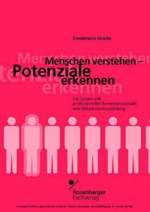 Menschen verstehen, Potenziale erkennen - Stracke, Friedemann