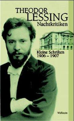 Nachtkritiken - Lessing, Theodor