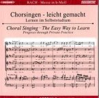 Messe h-moll, BWV 232, Chorstimme Sopran 1, 2 Audio-CDs