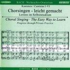 Weihnachtsoratorium, BWV 248, Chorstimme Bass, 2 Audio-CDs