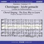 Weihnachtsoratorium, BWV 248, Chorstimme Tenor, 2 Audio-CDs