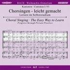 Weihnachtsoratorium, BWV 248, Chorstimme Alt, 2 Audio-CDs