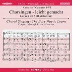 Weihnachtsoratorium, BWV 248, Chorstimme Sopran, 2 Audio-CDs