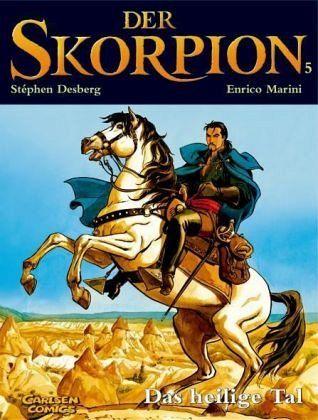 Das heilige Tal / Der Skorpion Bd.5 - Desberg, Stéphen; Marini, Enrico