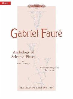 Anthology of Selected Pieces for Flute and Piano, pianoscore and flute part\Sammlung ausgewählter Stücke, Flöte und Klavier, Klavierpartitur u. Einzelstimme - Fauré, Gabriel