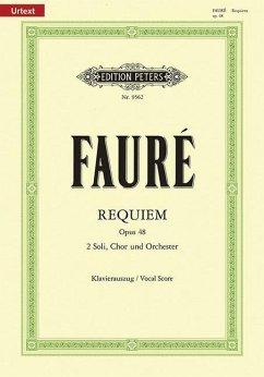 Requiem d-Moll op.48, Klavierauszug