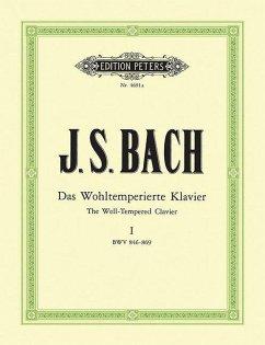 Das Wohltemperierte Klavier I, BWV 846-869