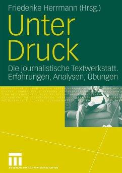 Unter Druck - Herrmann, Friederike (Hrsg.)