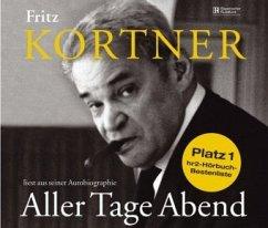Fritz Kortner liest Aller Tage Abend. 4 CDs - Kortner, Fritz