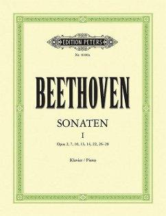 Klaviersonaten Nr.1-15 (op.2, 7, 10, 13,14, 22, 26 - 28) - Beethoven, Ludwig van