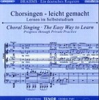 Ein Deutsches Requiem op.45, Chorstimme Tenor, 2 Audio-CDs