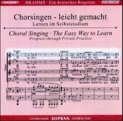 Ein Deutsches Requiem op.45, Chorstimme Sopran, 2 Audio-CDs