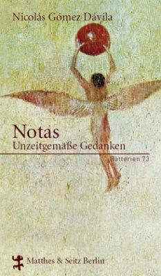 Notas - Gomez Davila, Nicolas
