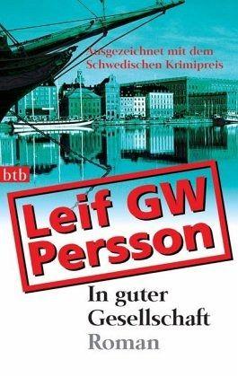 Buch-Reihe Lars M. Johansson von Leif GW Persson