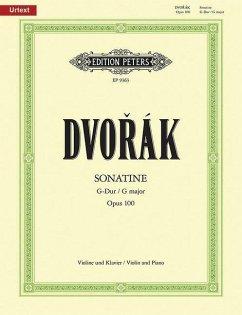 Sonatine G-Dur op.100, Violine und Klavier