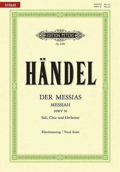 Messias HWV 56 (deutsch/englisch), Klavierauszug - Händel, Georg Friedrich