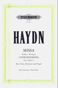 Messe B-Dur Hob.XXII:12 (Theresienmesse), Klavierauszug