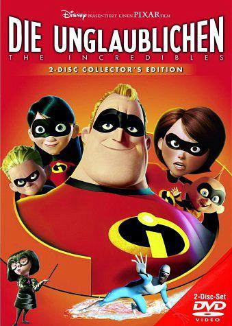 Die Unglaublichen, 2 DVDs