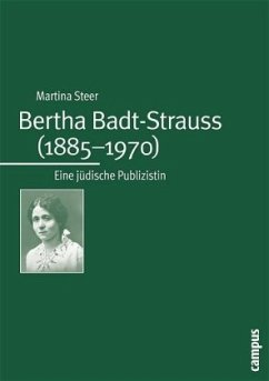 Bertha Badt-Strauss (1885-1970) - Steer, Martina