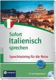 Sofort Italienisch sprechen, 1 Audio-CD + Begleitbuch