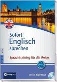 Sofort Englisch sprechen, 1 Audio-CD + Begleitbuch