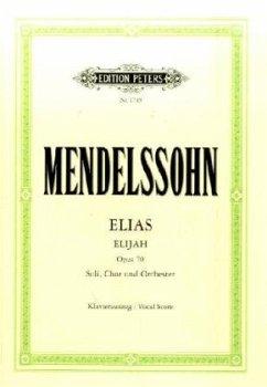 Elias op.70, Klavierauszug (Soldan)