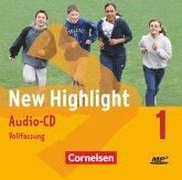 5. Schuljahr, 2 Audio-CDs (Vollfassung) / New Highlight, Hauptschule Bd.1