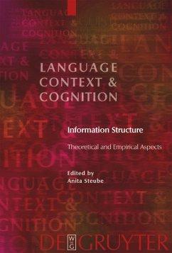 Information Structure - Steube, Anita / Lang, Ewald (eds.)