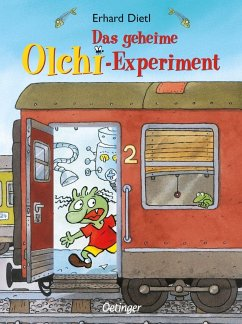 Das geheime Olchi-Experiment / Die Olchis-Kinderroman Bd.1 - Dietl, Erhard