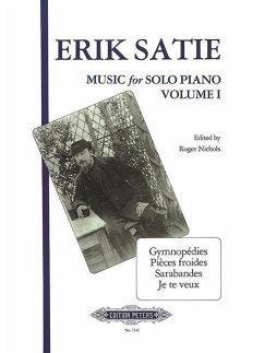 Musik für Klavier: 3 Gymnopedies, Sarabandes, Pieces froides u.a.