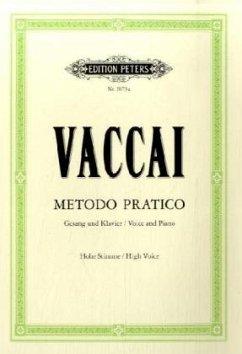 Metodo pratico di Canto italiano, Gesang und Klavier, hohe Stimme