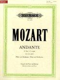 Andante für Flöte und Orchester C-Dur KV 315 (285e), Klavierauszug