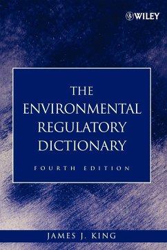 Environmental Dictionary 4e - King