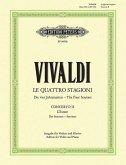 Der Sommer, g RV 315 / Konzerte für Violine und Streichorchester, Die Jahreszeiten, op.8, Klavierauszug Nr.2