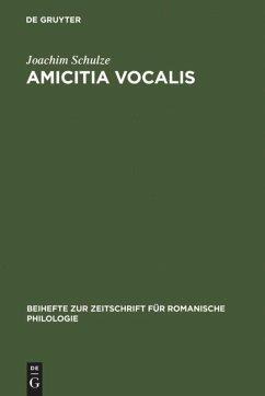 Amicitia vocalis