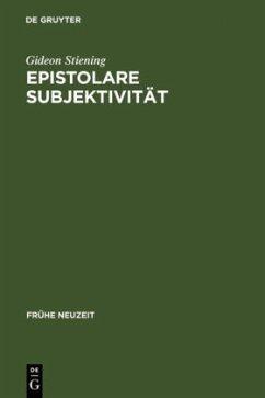 Epistolare Subjektivität