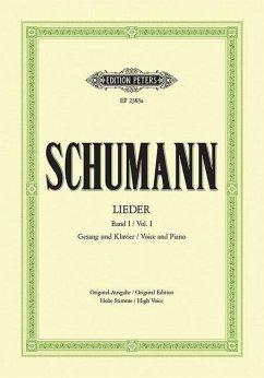 77 Lieder - Myrthen op.25, Liederkreis, Frauenliebe op.42, Dichterliebe op.48 und 15 ausgewählte Lieder, h