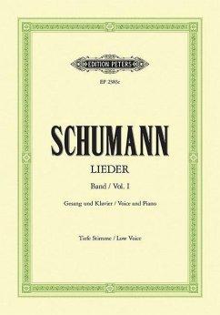 77 Lieder - Myrthen op.25, Liederkreis, Frauenliebe op.42, Dichterliebe op.48 und 15 ausgewählte Lieder, t
